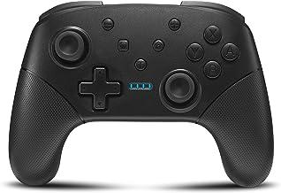 Wireless Switch Controller for Nintendo Console Pro Gamepad with Joystick [2020 New] Non-Slip Ergonomic Design, Black