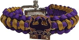 Omega Psi Phi Paracord Bracelet - Adjustable Size