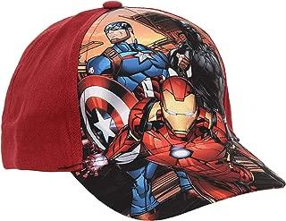 Boys Marvel Avengers Superheroes Summer Baseball Cap Red