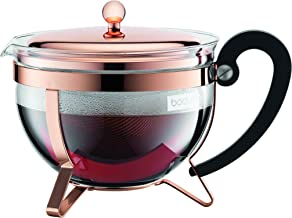 Bodum Australia Pty Tea Pot Chambord, Copper, 11656-18