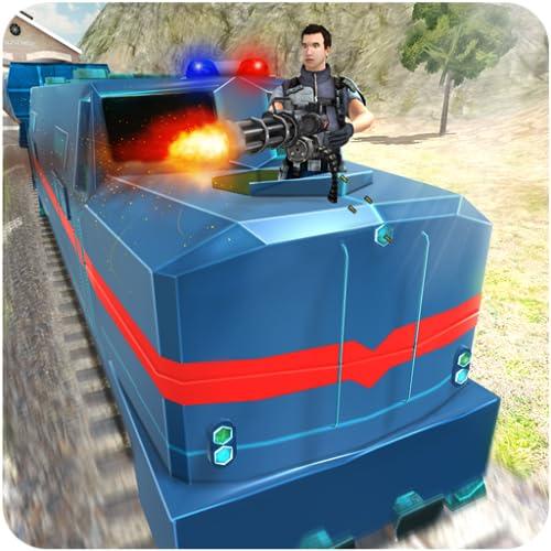 Simulador de tren bala de policía