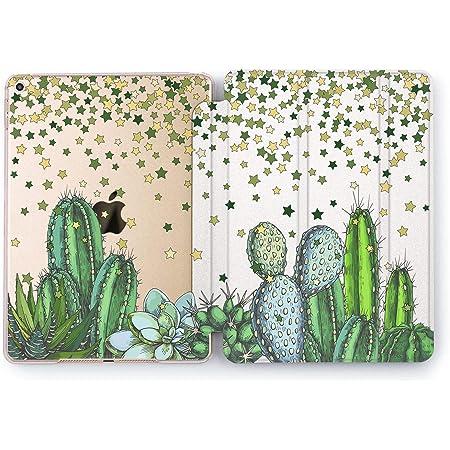 Cute Cactus iPad Case Pressed Flowers iPad Case iPad Pro 11 10.5 12.9 Mini 5 Air 3 Plants Stickers iPad Case