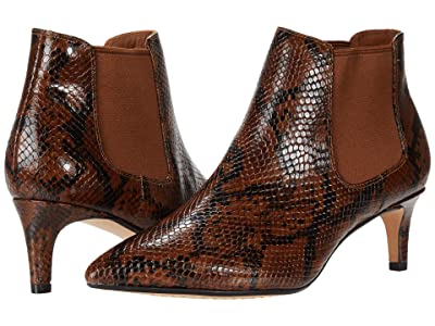 Clarks Laina55 Boot 2 (Dark Tan Snake) Women