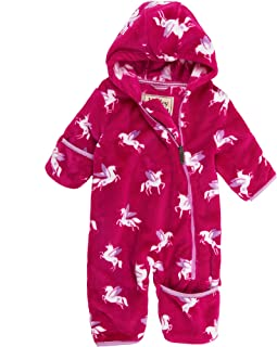 Hatley Girls Fuzzy Fleece Baby Bundlers