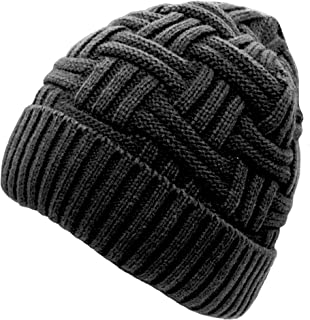 Winter Hat Warm Knitted Wool Thick Baggy Slouchy Beanie Skull Cap for Men Women Gifts