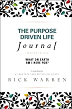 The Purpose Driven Life Journal: What on Earth Am I Here For? PDF