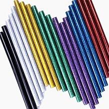 LESOLEIL 20st Glitter Hete Smelten Lijm Sticks voor DIY Ambachten 11x200mm (7 kleuren)