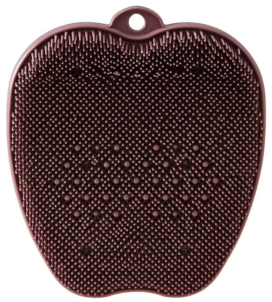 サイクロプス控えめな知事tone フットブラシ ブラウン TR-15