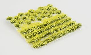 WWS Österglock självhäftande ränder och knippa set av 2 mm, 4 mm eller 6 mm statiska gräsfibrer (4 mm)