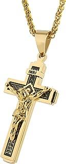 Best jesus christ necklace gold Reviews