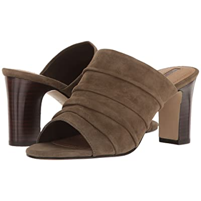 Tahari Ariana (Olive Suede) High Heels