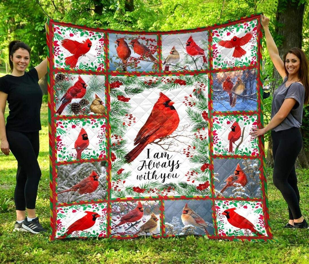 Personalized Beautiful Cardinal Birds Limited time cheap sale I You King Am Direct stock discount with Always