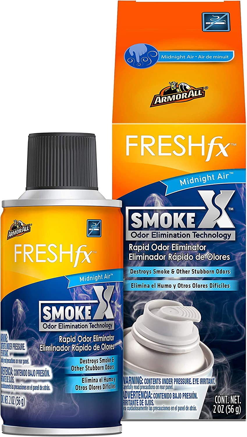Armor All - 18956 Smoke Max 60% OFF X Car Odor and Ranking TOP20 Air Freshener Purifier