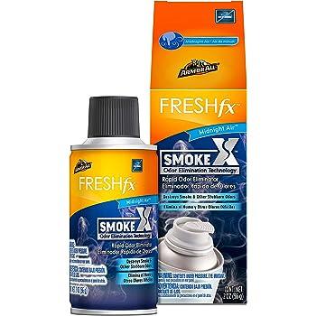 Armor All Smoke X Car Air Freshener and Purifier - Odor Eliminator for Cars & Truck, 2 Oz Fogger, Midnight Air, 18956
