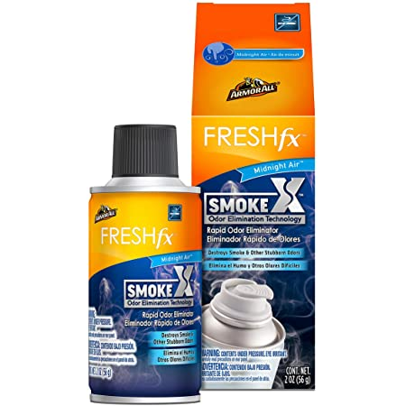 Armor All - 18956 Smoke X Car Air Freshener and Purifier - Odor Eliminator