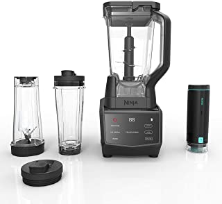 Ninja Smart Screen Duo Technology in Black (CT661V) Countertop Blender with Freshvac, 72 oz (Renewed)