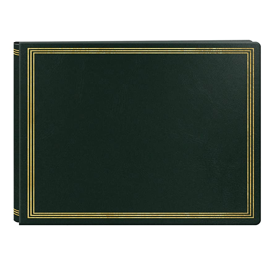 Pioneer Photo Albums JMV-207HUNTERGREEN Jumbo Magnetic Page X-Pando Album