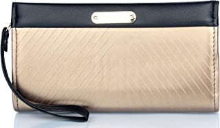 Mammon Women's Handy clutch Wallet(COC,8x4.5x2 Inches)