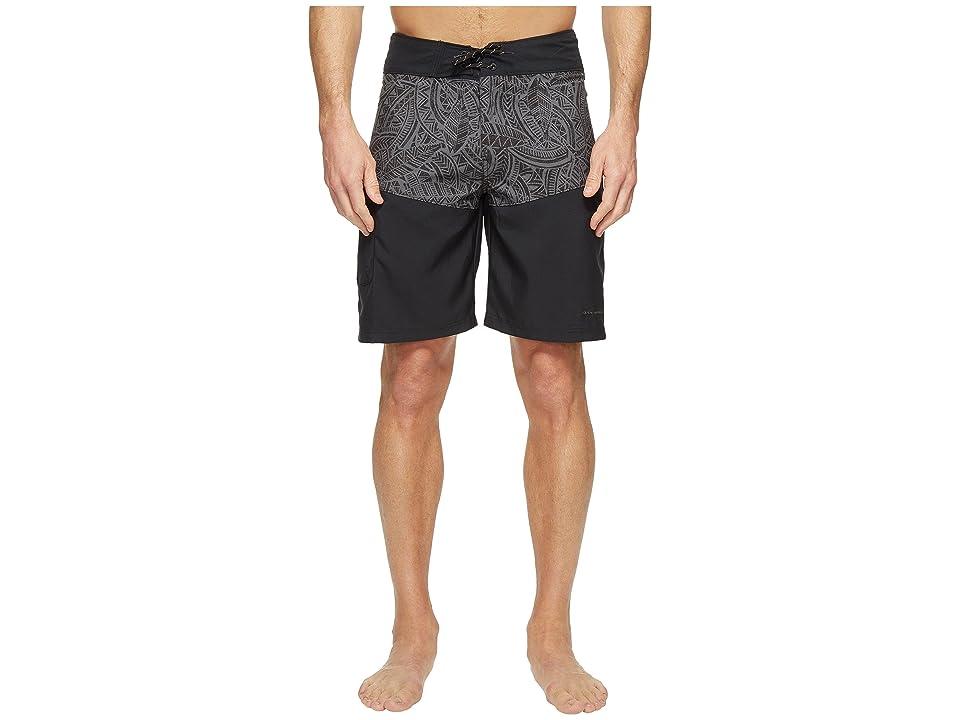 Columbia Low Drag Board Shorts (Black Poly Tuna) Men