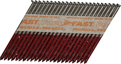 Pneu-Fast BD10DXHG 3-by-0.120-Inch Tri-Coat Galvanized Framing Nail for 28-Degree Framing Nailers, 1000-Count
