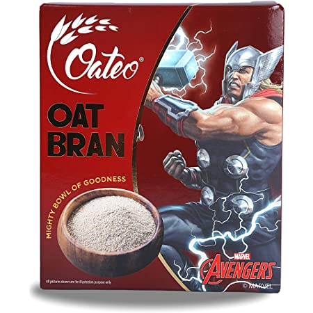 Oateo Oats Bran - 400 Grams - High Protein & Fibre (400 grams)