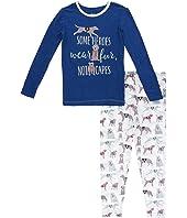 Long Sleeve Pajama Set (Little Kids/Big Kids)