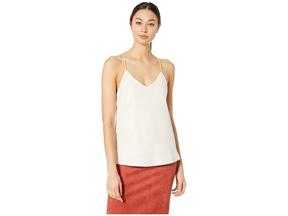Bishop + Young Micro Stud Faux Suede Cami (Ivory) Women