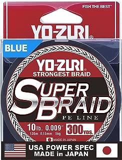 Yo-Zuri Superbraid Blue 300 Yards Superbraid Fishing Line