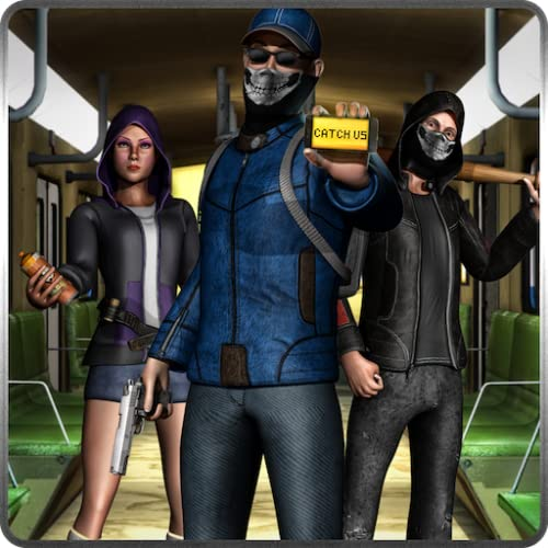 Vegas Crime Stadt Gangster Hardtime Survival 3D: London U-Bahn Criminal Squad Cops vs Räuber Kampf Abenteuer Spiele kostenlos für Kinder