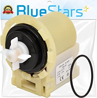 Ultra Durable 8540024 Washer Drain Pump Replacement part by Blue Stars - Exact Fit for Whirlpool Kenmore Maytag washers - Replaces 8540024 W10130913 W10117829