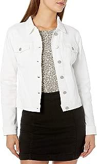 dollhouse Women's White Denim Jacket