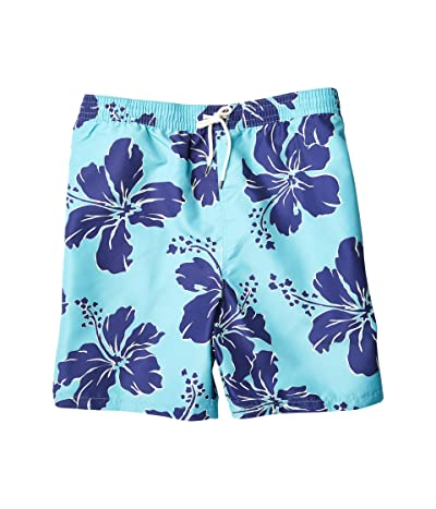 Polo Ralph Lauren Big & Tall Big Tall Traveler Swim Shorts (Shadow Hibiscus) Men