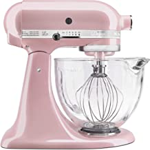 KitchenAid KSM155GBSP KSM155GBSR Stand Mixer, 5 quart, Silk Pink