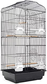 Paw Mate Parrot Aviary Veer 92cm (PET-3016-92BK)