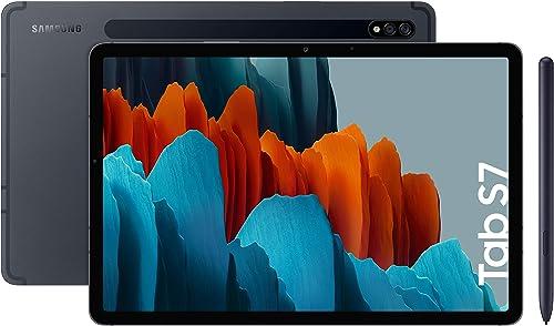 "Samsung Galaxy Tab S7 - Tablet de 11"" con pantalla QHD (Wi-Fi, Procesador Qualcomm Snapdragon 865+, RAM de 6GB, ROM d..."