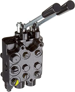 Reverse Flow is Not Pressure Compensated Gloss Black 3//4 Port 16-30 GPM Inlet Flow Range Prince Manufacturing RD-375-AB-30 Pressure Compensated Flow Divider Valve