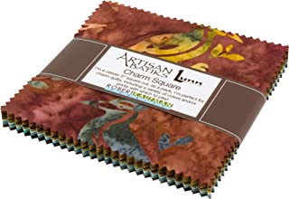 Lunn Studios Artisan Batiks Wildlife Sanctuary 5 Charm Square 42 5-inch Squares Robert Kaufman