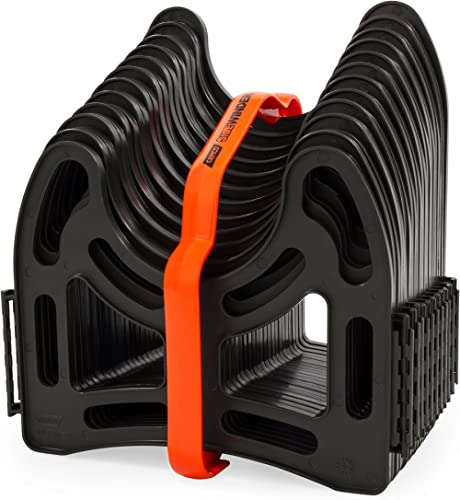 Camco 43031 10ft Sidewinder RV Sewer Hose Support, Made from Sturdy Lightweight Plastic, Won't Creep Closed, Holds Ho...