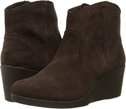 Crocs - Leigh Suede Wedge Bootie