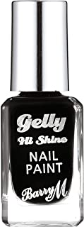Barry M Gelly Hi Shine Nail Paint, Black Forest, 10 ml