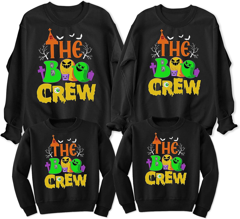 The Boo Crew Matching Family Sweatshirt Funny Max 65% Columbus Mall OFF Halloween