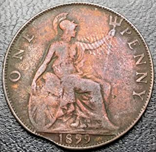 1899 penny great britain