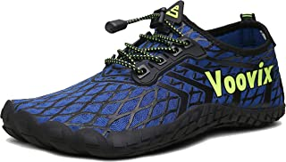Voovix Mens Minimalist Trail Running Barefoot Shoes Womens Quick Drying Water Shoes for Swim Surf Beach
