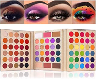 UCANBE Eyeshadow Palette Pro 86 Colors Make Up Kit Matte Shimmer Eye Shadow Highlighters Contour Blush Powder All In One M...