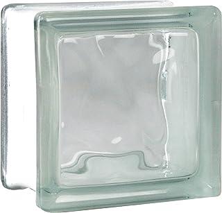 comprar comparacion 5 piezas FUCHS bloques de vidrio nube neutro 11,5x11,5x8 cm