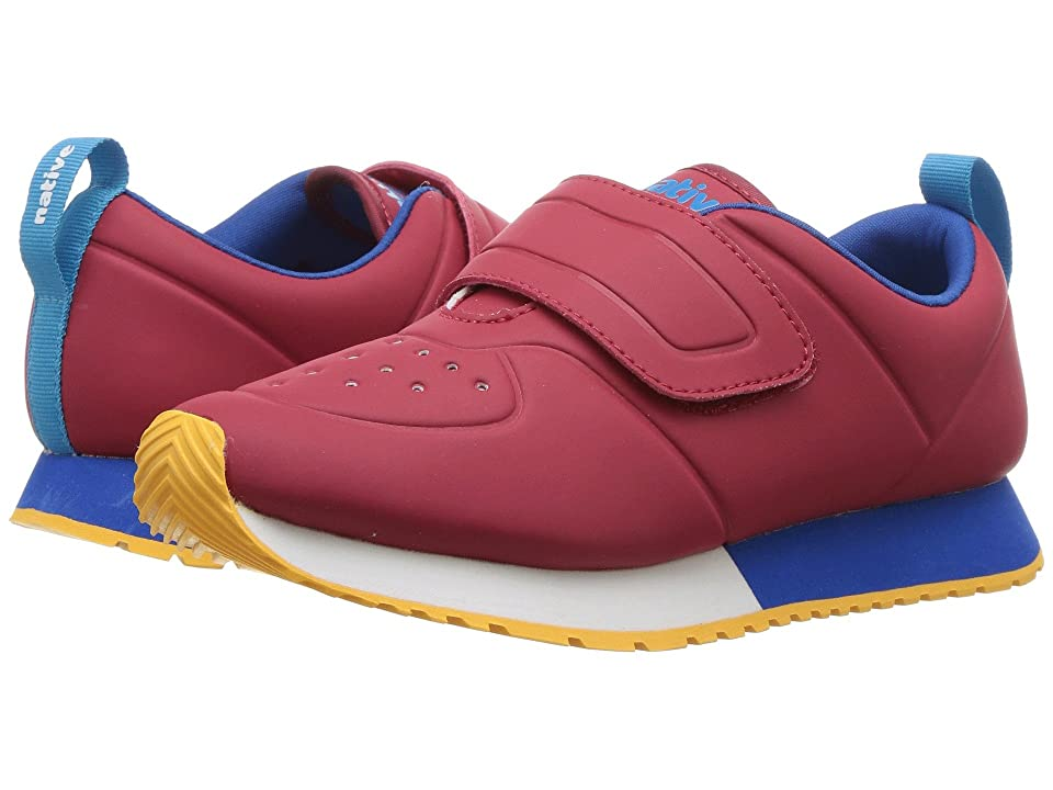Native Kids Shoes Cornell HL CT (Little Kid) (Ski Patrol Red CT/Shell White/Victoria Blue/Beanie Rubber) Kids Shoes