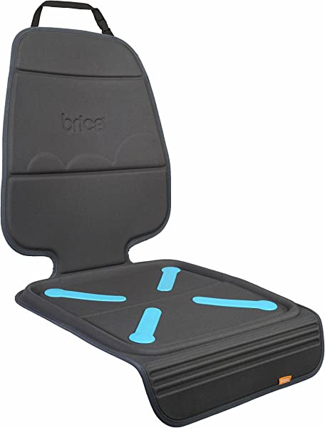 Munchkin Brica Elite Seat Guardian Car Seat Protector Crash Test Approved Dark Grey 1 Pack