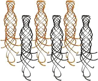 Shimmering Whirls (asstd Orange & Black) (6/Pkg)
