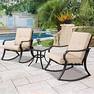 Amazon Com Metal Patio Furniture Sets Patio Furniture