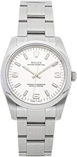 Rolex Air-King Mechanical (Automatic) Silver Dial Womens Watch 114200 (Certified Pre-Owned)